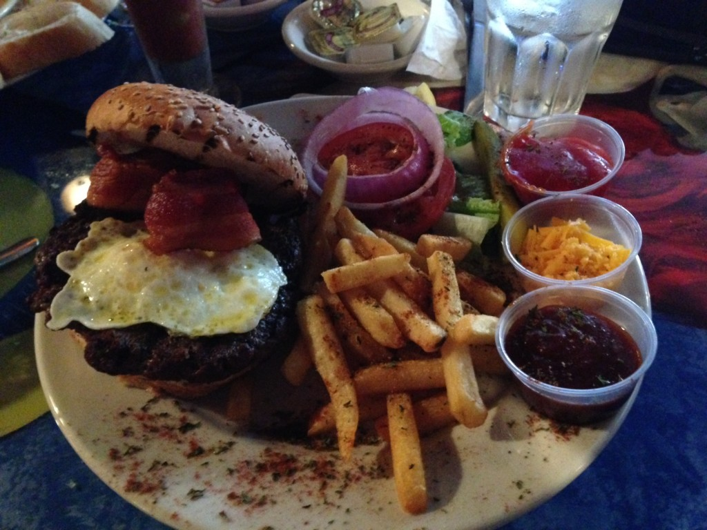 Monsterous 'Morning After' Burger