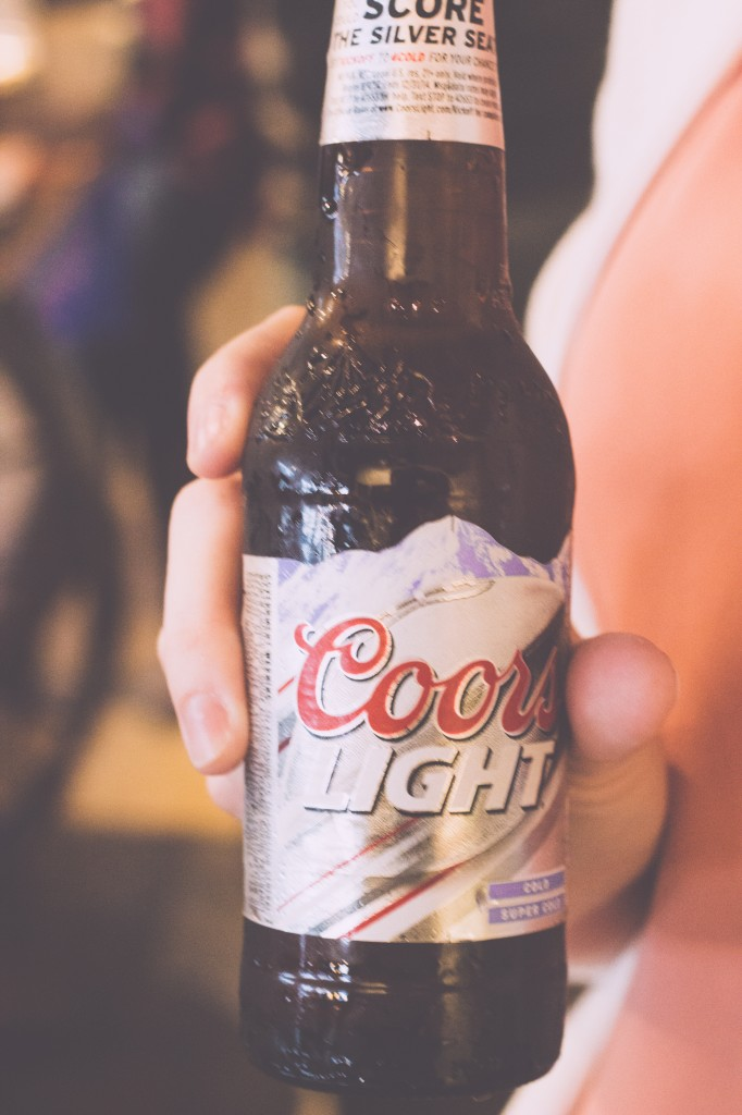 The Groom's Beer of Choice