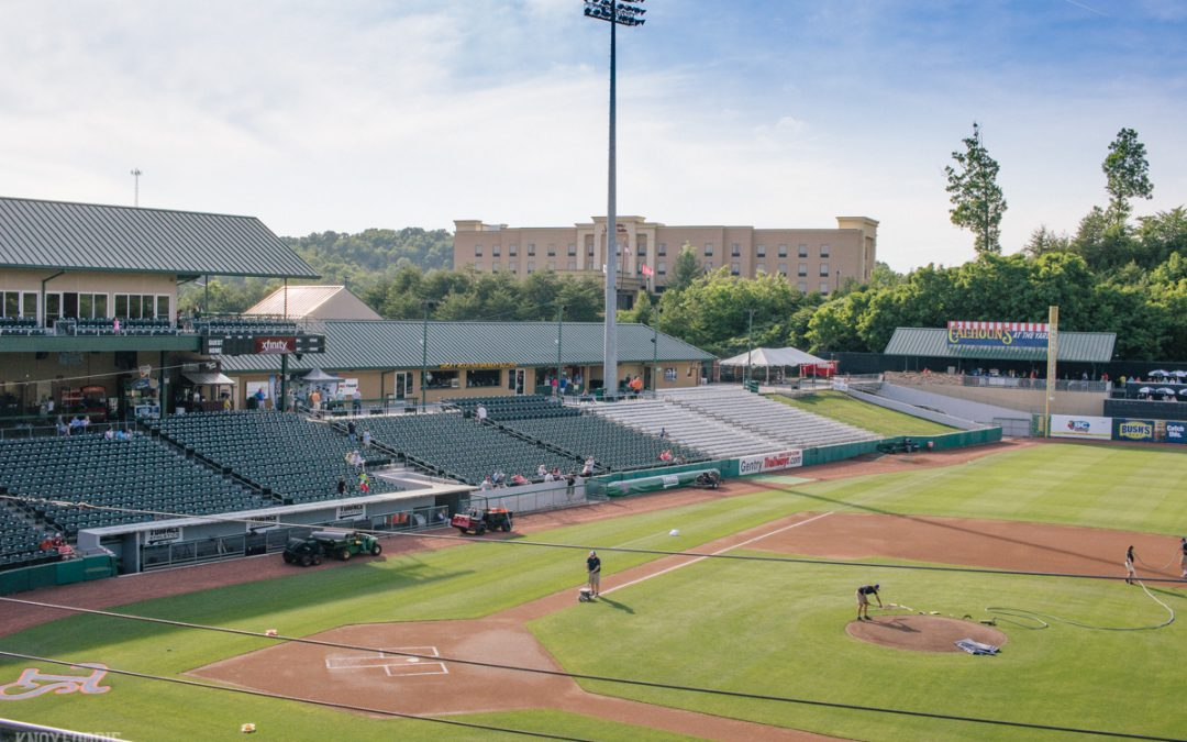 Gnoshing About: Copper Cellar Restaurants at Smokies Baseball Park