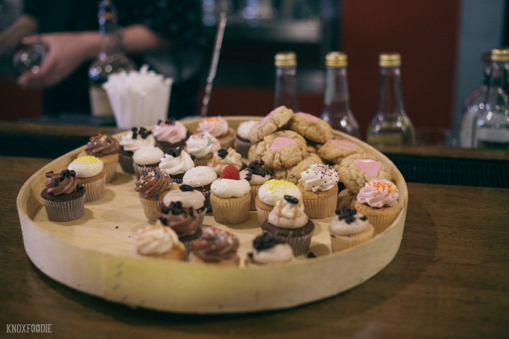 Sweets provided by Magpies who also provides the sweets for Holly's 135's regular menu.