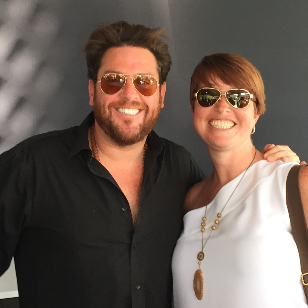 Mrs. Knoxfoodie with Scott Conant