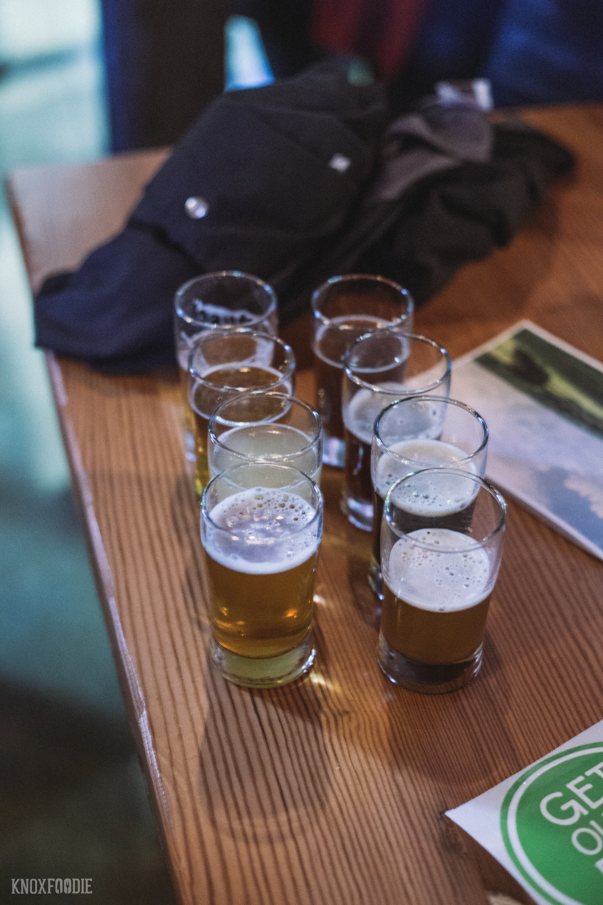 Beer flights will be available!