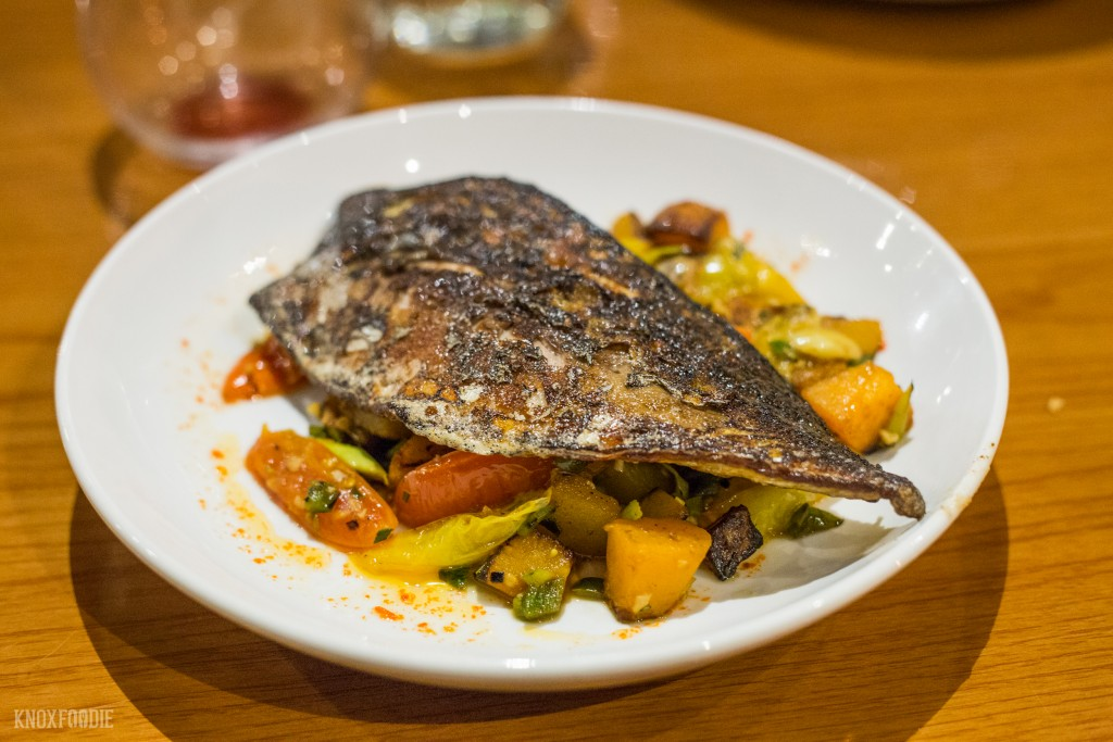 A Nightly Chef's Fish Special at The Plaid Apron