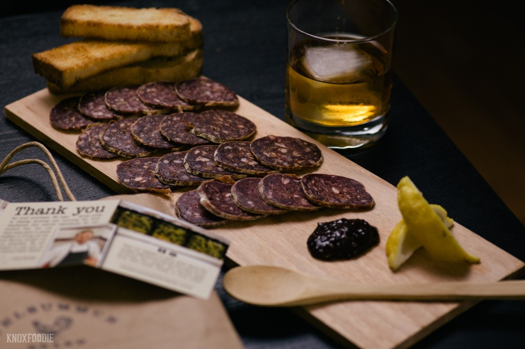 Cured meat and mostarda