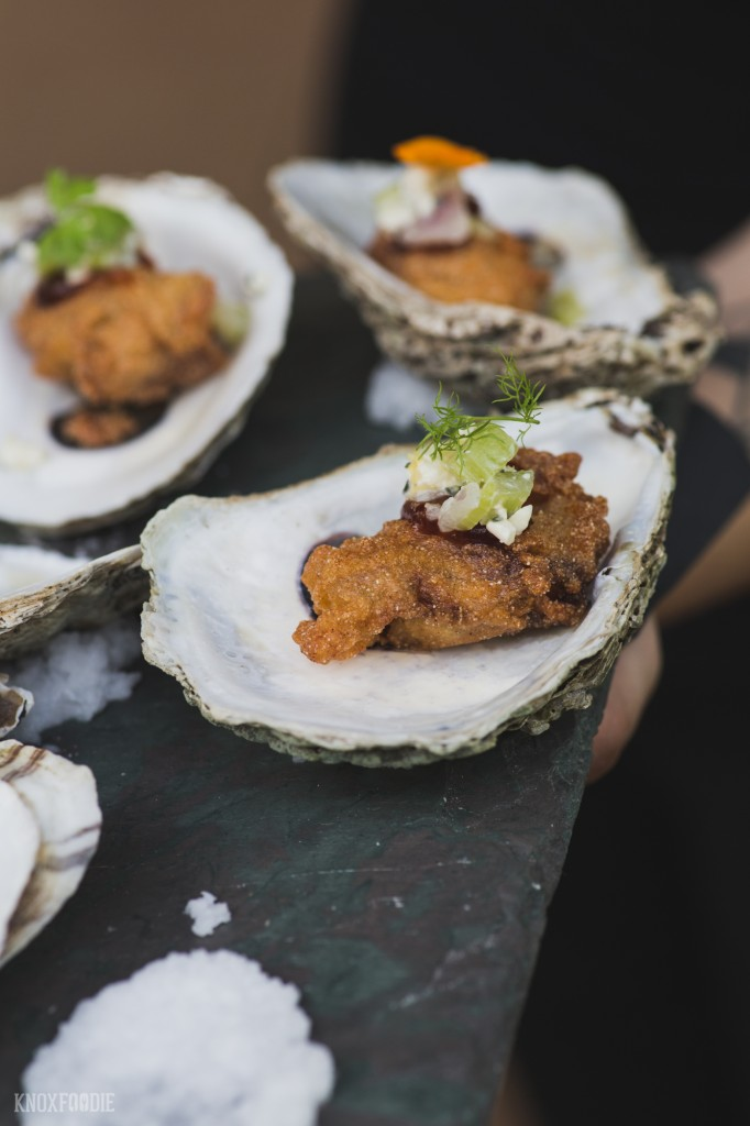 Corneal Crusted Oysters