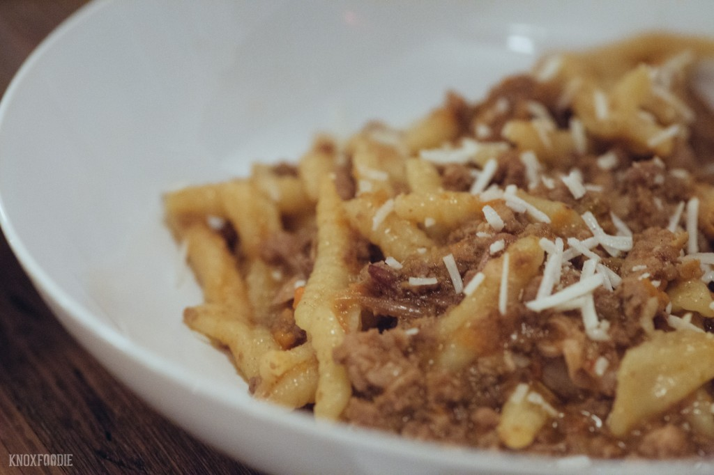 Bolognese at Emilia Knoxville