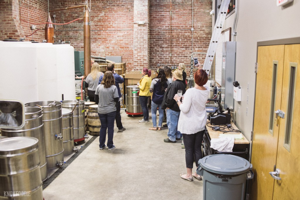 Behind the curtain at Knox Whiskey Works