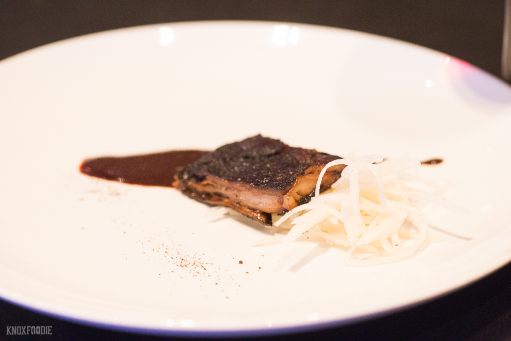 Lamb Belly Knoxville wine dinner