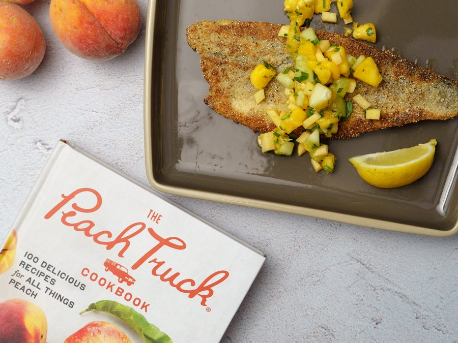 The Peach Truck Cookbook celebrates summer