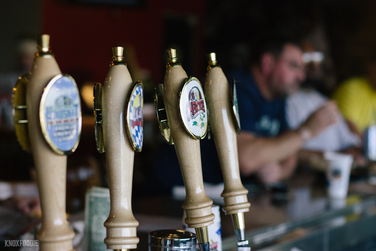 Smoky Mountain Brewery Beer is the only craft beer available at Smokies Park. Try the Appalachian Pale Ale!