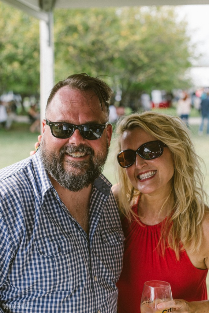 Mr. Knoxfoodie with Beth Sachan