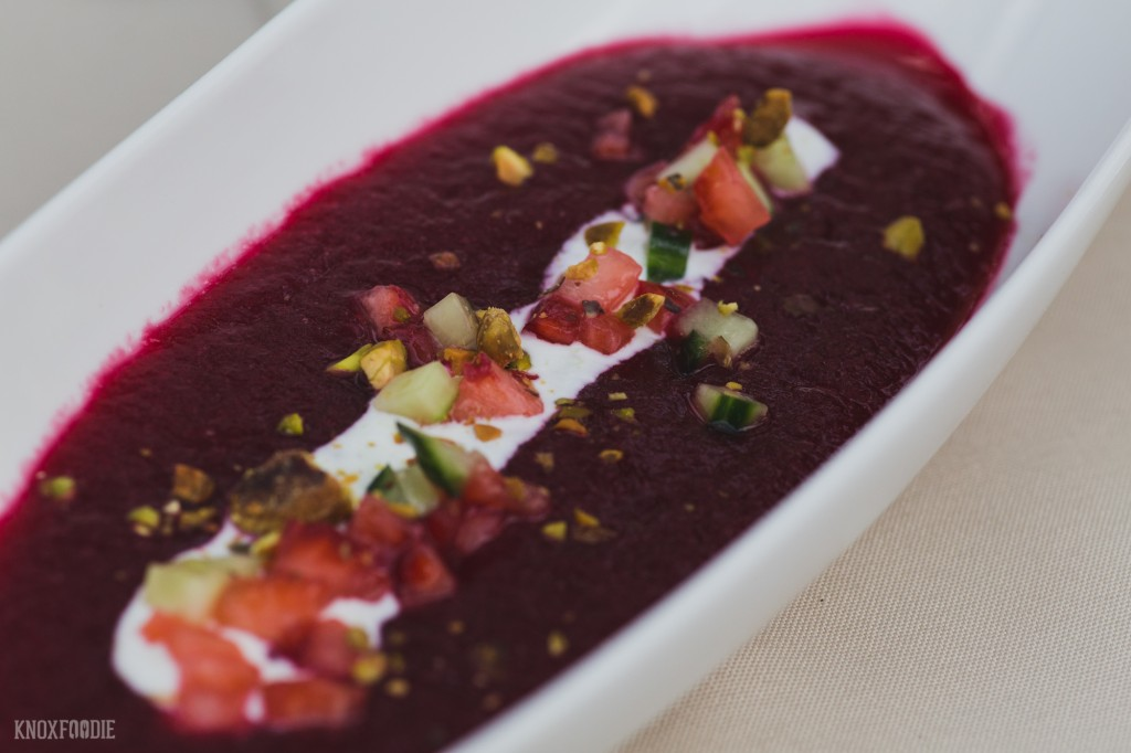 Beet and Strawberry Soup