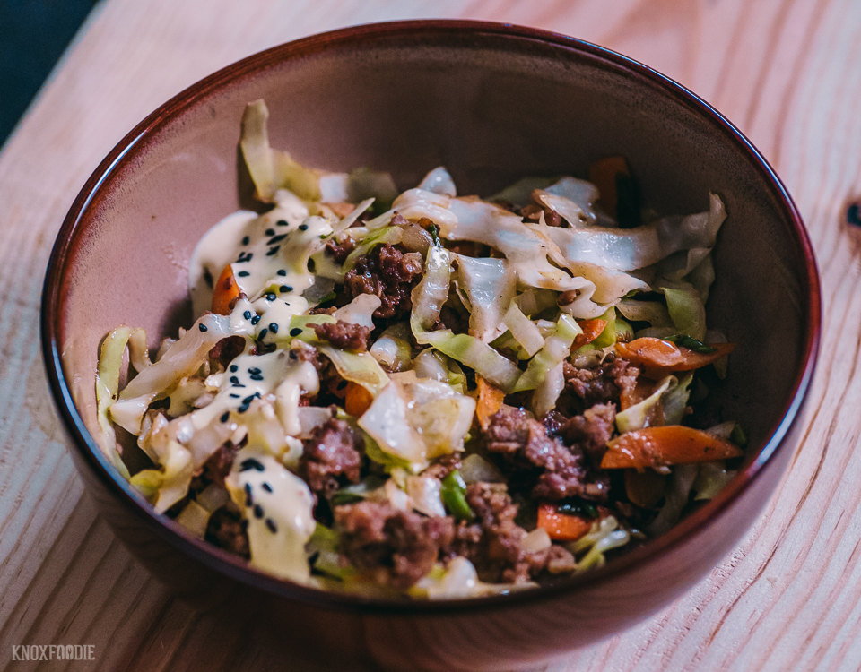 Whole30 Egg Roll Bowl