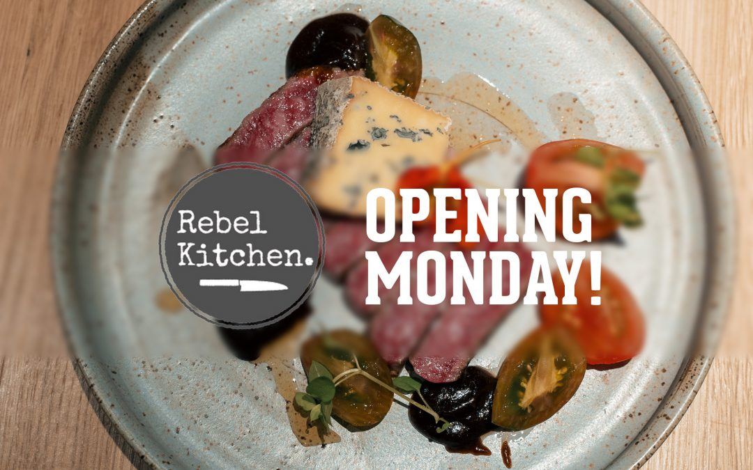 Rebel Kitchen Opens Monday in Knoxville's Old City!