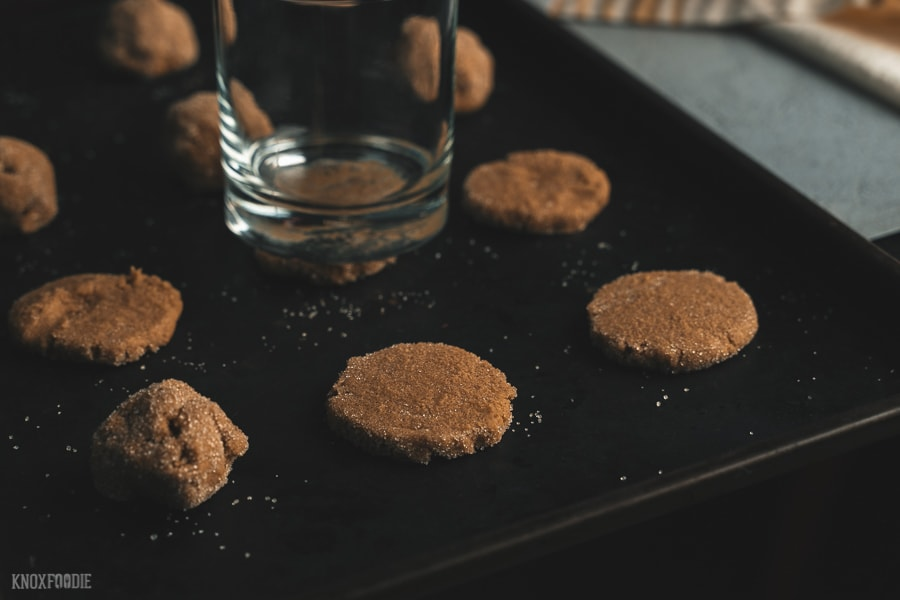 Ann Byrn Molasses Cookies from American Cookie Cookbook