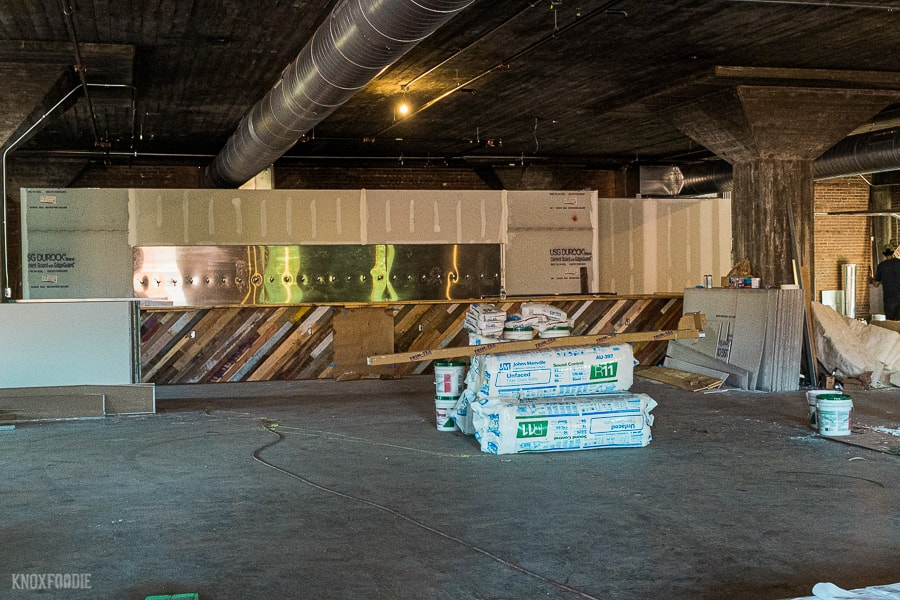 Hi-Wire Brewing Taproom nears completion in Knoxville