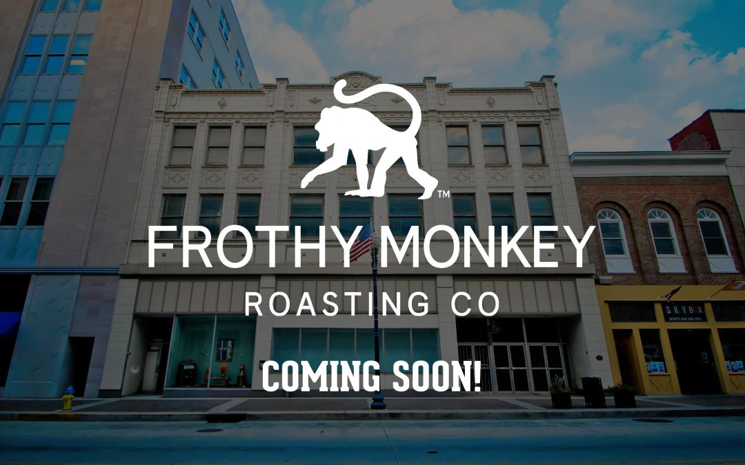 Frothy Monkey debuting in Knoxville in 2022, Gay Street